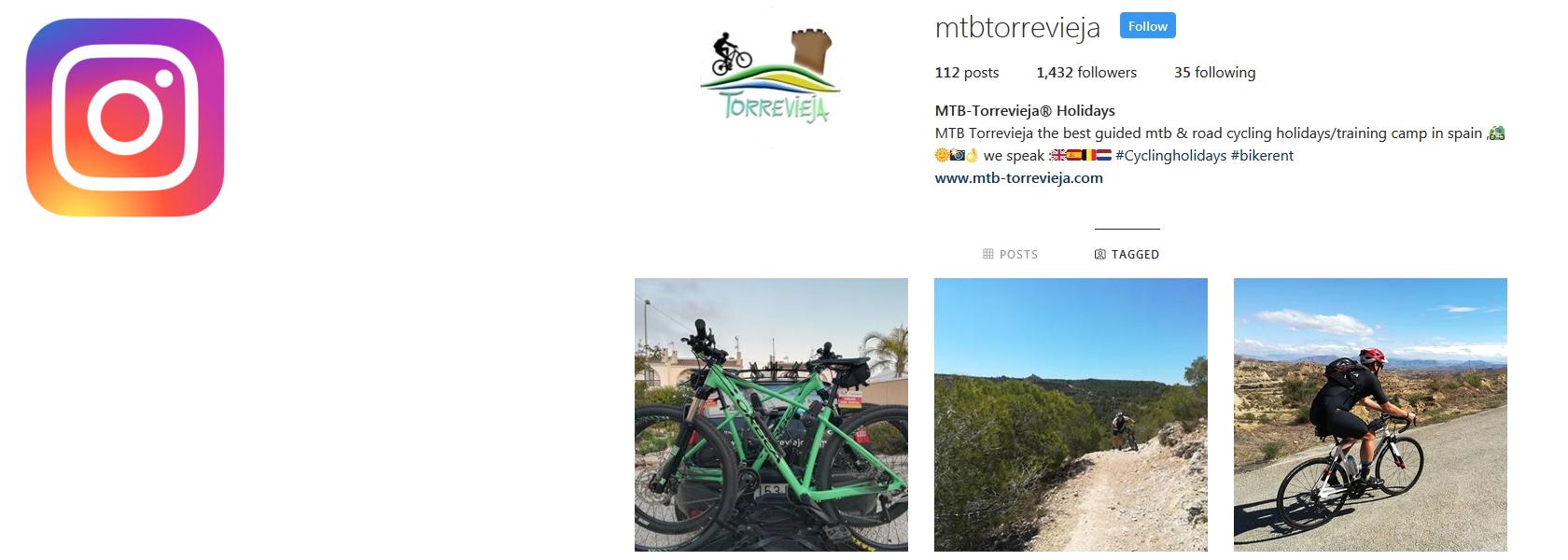Bike hire in Torrevieja , La Zenia , Villamartin , Orihuela costa