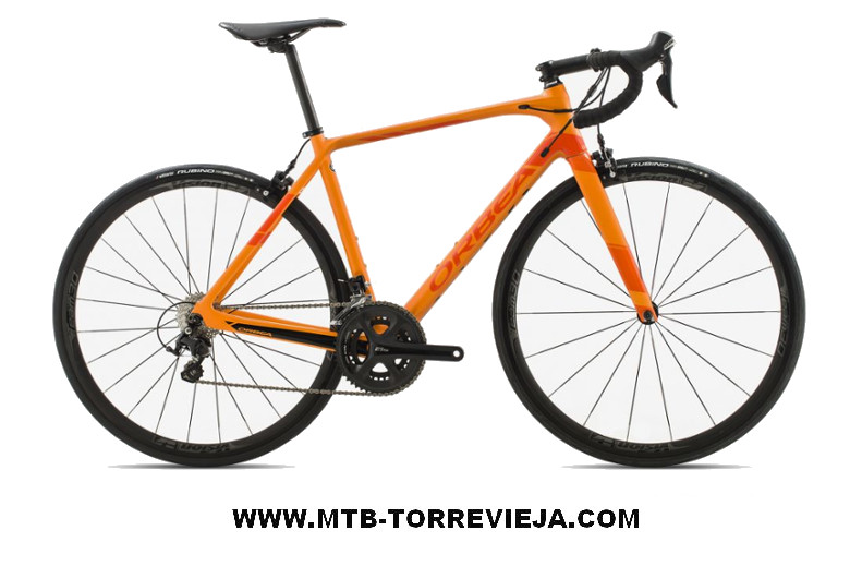 Orbea orca m30 orange rent torrevieja Alicante